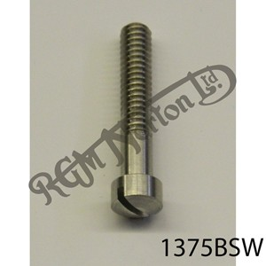"RAISED CHEESEHEAD (FILISTER) 1 3/8"" X 1/4"" BSW SCREW, STAINLESS"