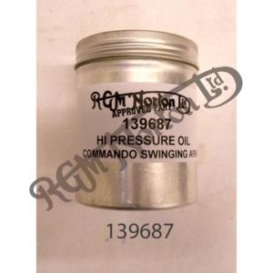 HIGH PRESSURE HEAVY OIL FOR COMMANDO SWINGING ARMS, 250ML