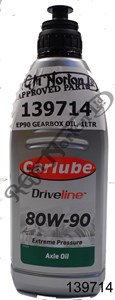 EP90 GEARBOX OIL, 1LTR