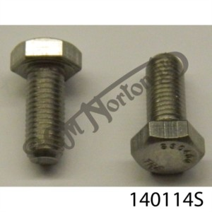 """5/16"""" UNF X 3/4"""" OIL FILTER BOLTS (SET OF TWO)"""