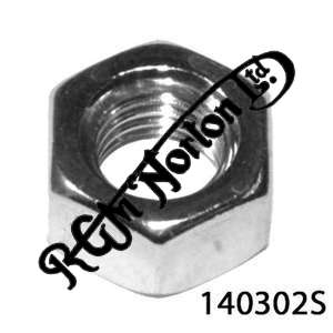 """5/16"""" UNF STAINLESS PLAIN NUT"""