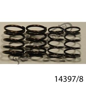 VALVE SPRING SET, OHV SINGLES, ES2,M19,M50, PRE 1959 (LARGER SPRING)