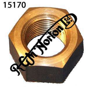 GEARBOX TOP BOLT NUT 9/16 x 20 T.P.I  FEATHERBED STAINLESS STEEL