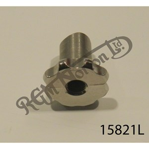 SCALLOPED STAINLESS PRE FEATHERBED REAR BRAKE ADJUSTER