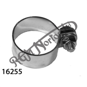 """EXHAUST CLAMP 1 5/8"""" (1 3/4"""" 44.45MM I.D.), STAINLESS STEEL"""