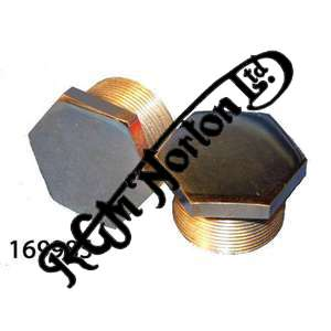 ST/ST FORK STANCHION TOP NUTS, FEATHERBED (PAIR)