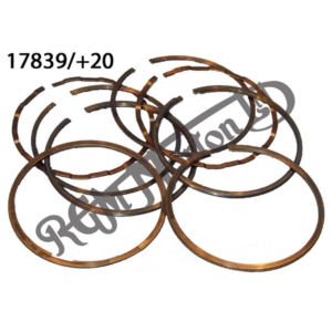 600/650 PISTON RING SET +20 COMPLETE
