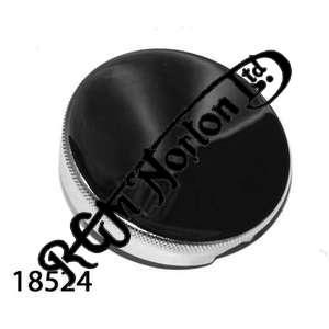 CHROMED BAYONET PETROL FILLER CAP,  UK MADE