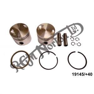 NEW HEPOLITE 750 PISTONS +40 COMPLETE PAIRS