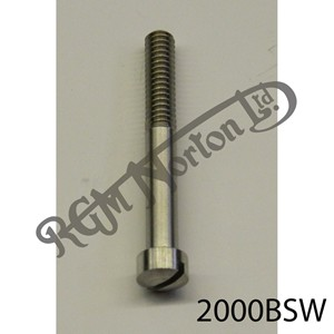 """RAISED CHEESEHEAD (FILISTER) 2"""" X 1/4"""" BSW SCREW, STAINLESS"""