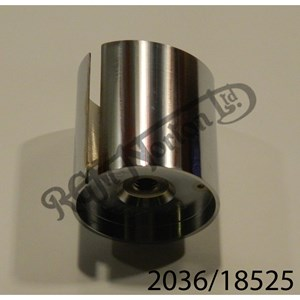 SMOOTHBORE THROTTLE SLIDE, 2.5 CUTAWAY