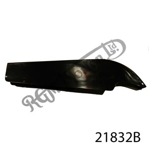 FEATHERBED CHAINGUARD   EPOXY COATED BLACK  1958 ONWARDS
