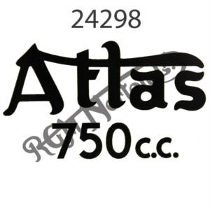 ATLAS 750CC TRANSFER, BLACK 1962-1968