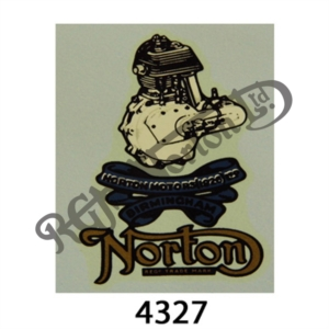 NORTON MOTORS (1926) LTD LOGO DECAL