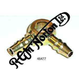 """DOUBLE LEG 5/16"""" ROCKER OIL FEED BANJO EYE"""