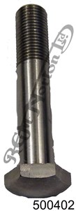 """3/8"""" BSC - 26 TPI GENERIC BOLT 2"""" U.H. STAINLESS"""