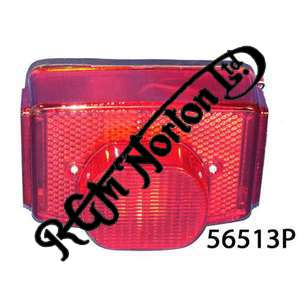 REAR LIGHT SQUARE TYPE COMPLETE (PATTERN)