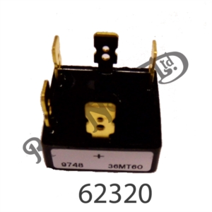 RECTIFIERS, SOLID STATE, SUITABLE FOR 3 PHASE ALTERNATOR
