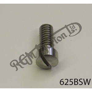 """RAISED CHEESEHEAD (FILISTER) 5/8"""" X 1/4"""" BSW SCREW, STAINLESS"""