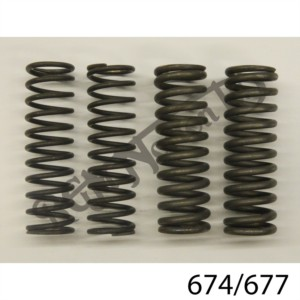 SET OF 4 PLUNGER SPRINGS