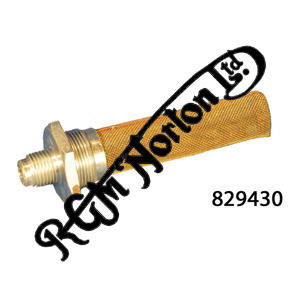 OIL FEED UNION FILTER TYPE, TRIUMPH