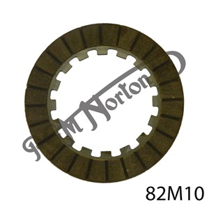 """CLUTCH FRICTION PLATE, 1/2"""" x 1/2"""" STEEL"""