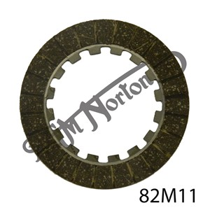 CLUTCH FRICTION PLATE, INNER TAGS