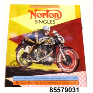 ROY BACON HARDBACK NORTON SINGLES BOOK