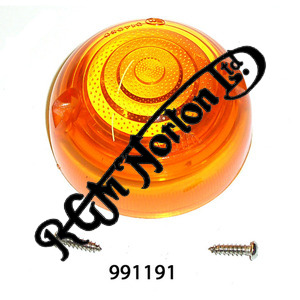 AMBER LENS FOR LUCAS INDICATORS