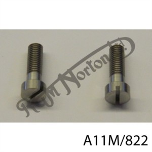 """13/16"""" X 1/4"""" 26 TPI STAINLESS CHEESE HEAD SCREWS (PR)"""