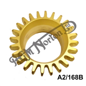 """EXHAUST ROSE FOR SINGLE CYLINDER IN BRASS UNPLATED, 5/8"""" THREADED LENGTH"""
