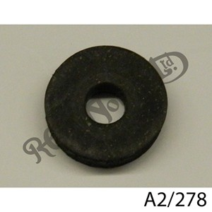 RUBBER WASHER, THICK FOR EARLY PETROL AND OIL TANKS