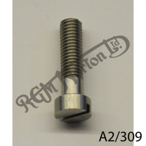 """31/32"""" X 1/4"""" 26 TPI STAINLESS SLOTTED CHEESE HEAD SCREW"""