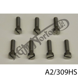 LAYDOWN GEARBOX OUTER COVER SLOTTED SCREW SET