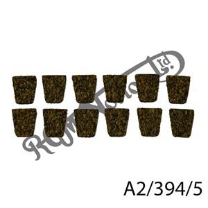 CLUTCH CORK FRICTION INSERTS, 5MM THICK (12)