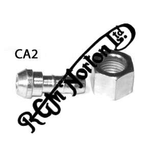 """PETROL UNION AND NUT FOR TAP/PIPE, 1/4"""" BSP"""