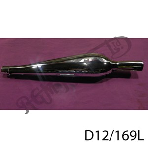 PEARDROP SILENCER, LEFT HAND 1 5/8""