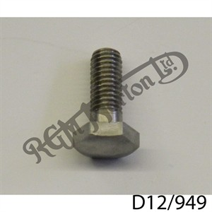 """1/4"""" - 26 TPI BSF (BSC) GENERIC HEX HEAD STAINLESS SCREW"""