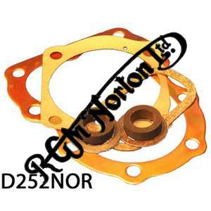 DECOKE GASKET SET FOR 16H WITH COPPER HEAD GASKET 1948-54