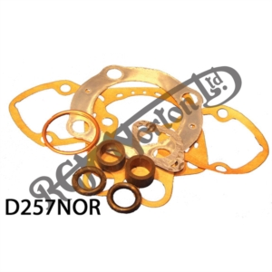 DECOKE GASKET SET, MODEL 50 1957 ON