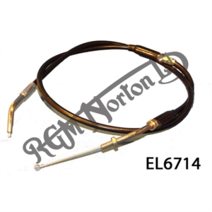 """THROTTLE CABLE FOR SINGLE CARB 1975 ON (MK3), 40"""" OUTER"""
