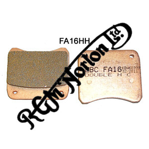 EBC DOUBLE H SINTERED ROAD/RACE BRAKE PADS TO FIT LOCKHEED AND GRIMECA CALIPERS