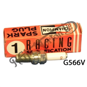 CHAMPION G566V RACE SPARK PLUG, 10 X 19MM