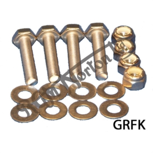GRABRAIL NUTS, BOLTS AND WASHERS FOR COMMANDO (FULL SET)