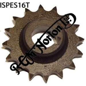 ENGINE SPROCKET, SINGLES, 16 TEETH, TOOTH POSITION IN