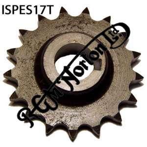 ENGINE SPROCKET, SINGLES, 17 TEETH, TOOTH POSITION IN