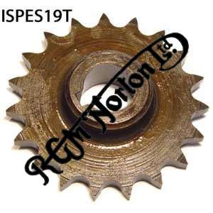 ENGINE SPROCKET, SINGLES, 19 TEETH, TOOTH POSITION IN