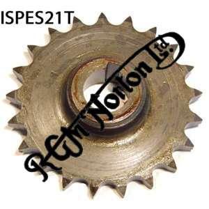 ENGINE SPROCKET, SINGLES, 21 TEETH, TOOTH POSITION IN