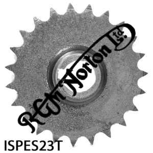 ENGINE SPROCKET, SINGLES, 23 TEETH, TOOTH POSITION IN