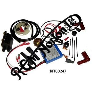 BOYER MICRO POWER IGNITION KITS WITH COILS, JUBILEE/NAVIGATOR 12 VOLT